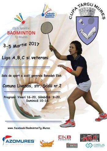 Cupa Targu Mures la badminton 2017
