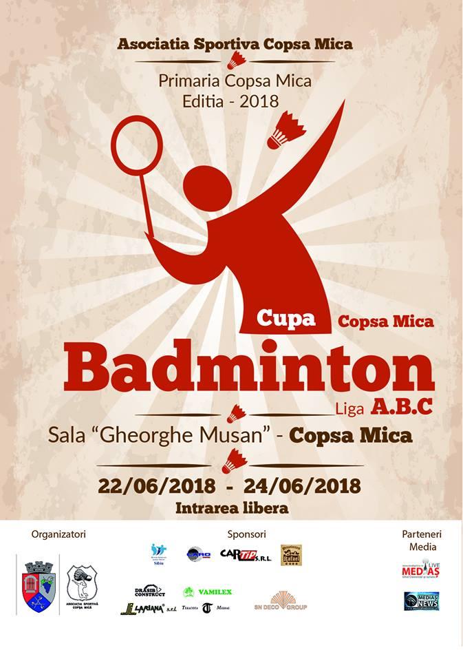 Badminton Cupa Copșa Mică