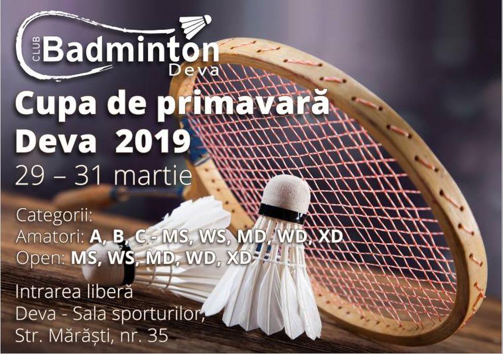 Badminton - concursi de amatori la Deva
